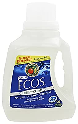 Earth Friendly - ECOS Ultra Laundry Detergent All Natural Free and Clear