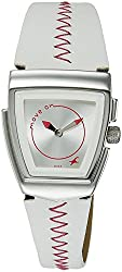 Fastrack Denim Analog Silver Dial Womens Watch - NE6021SL02