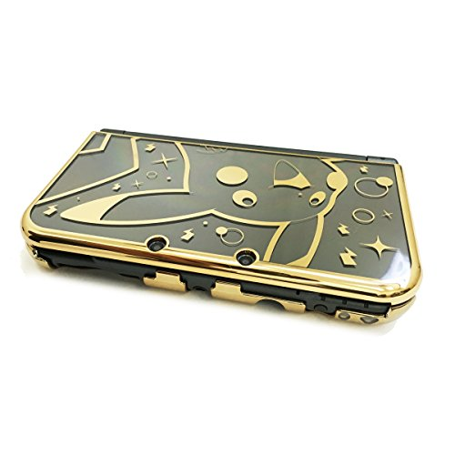 HORI Pikachu Premium Gold Protector for New Nintendo
