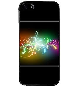 PrintDhaba Digital Design D-1411 Back Case Cover for APPLE IPHONE 4 (Multi-Coloured)