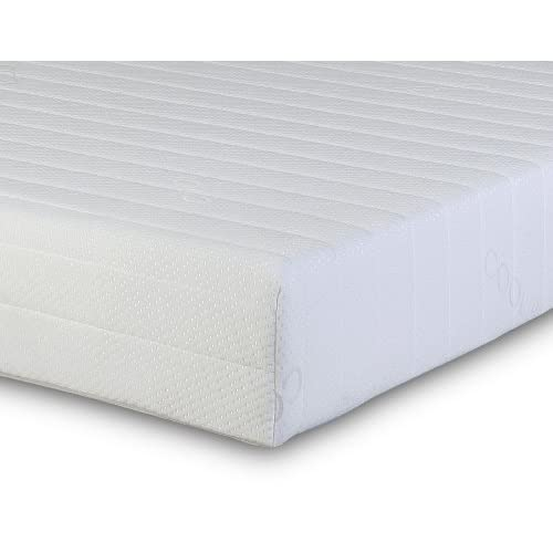 Visco Therapy Memory Foam and Reflex Zone Mattress with Micro Quilted Maxi-Cool Cover and 2 Fibre Pillows, Small...