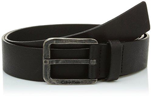 Calvin Klein Jeans LUCA BELT-Cintura Uomo    Nero 90 cm