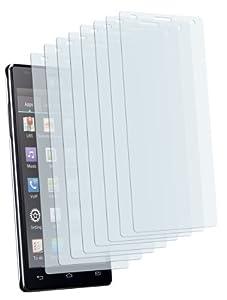 8x mumbi Displayschutzfolie LG P880 Optimus 4X HD Schutzfolie CrystalClear unsichtbar