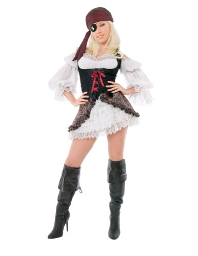 Adult Playboy Buccaneer Beauty Md Adult Womens Costume