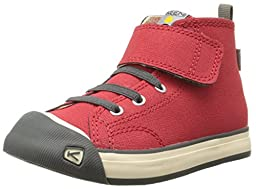 KEEN Coronado High Top Leather Shoe (Toddler/Little Kid), Red, 8 M US Toddler