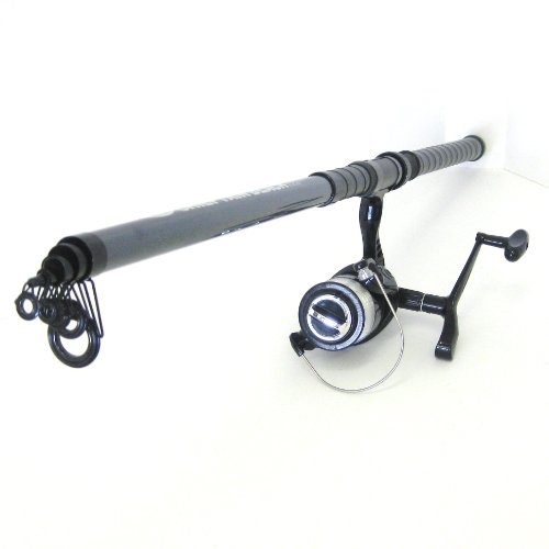 FTD - Fladen Beachcaster 3.5m Telescopic Sea Fishing Rod & Charter Surf 65 Reel (pre-spooled with 18lb line)