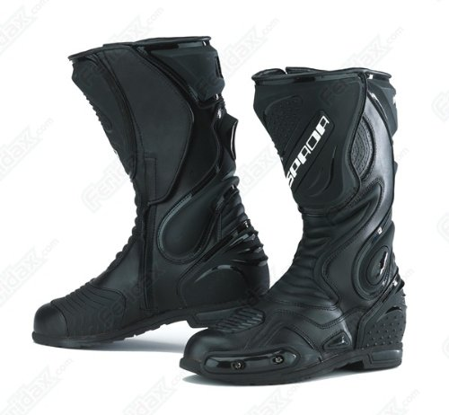 Spada ST1 Wp Waterproof Leather Motorcycle Boots UK 10