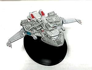 Eaglemoss #28 Star Trek MAQUIS RAIDER Die Cast Ship Eaglemoss w Magazine