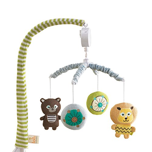 Lolli Living Zig Zag Zoo Musical Mobile