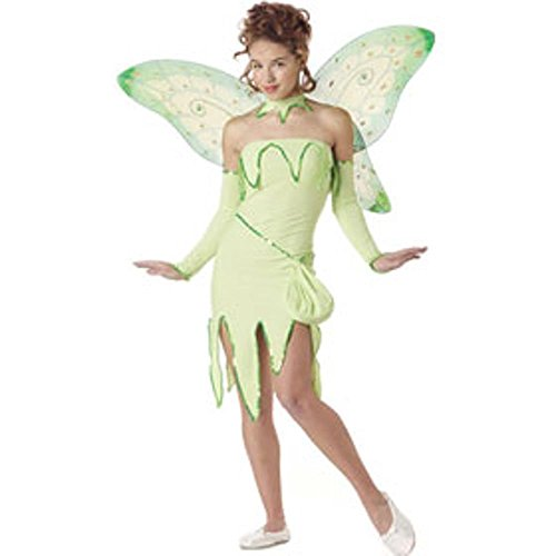 Girl's Teen Tinkerbell Costume (Teen 3-5)