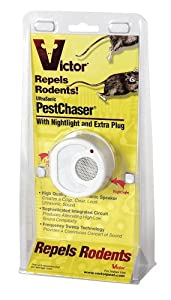 Victor Mini PestChaser with Nightlight and Extra Plug (Discontinued by Manufacturer)