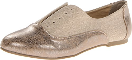 thumbnails of Dirty Laundry Women's Off The Wall Synthetic Boat Shoe,Tan/Champagne,6.5 M US