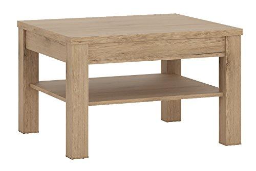 Furniture To Go Kensington Tavolino goffrata con melamina, 75x 75x 48cm, rovere medio