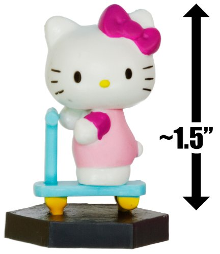 "Hello Kitty w/ a Scooter ~1.5"": Hello Kitty Mini-Figure Collection Series #2"