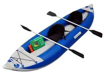 Maxxon Two Man Non Self-Bailer Inflatable Kayak
