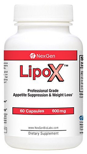 LipoX- Advanced Strength Diet Pills For Weight Loss and Appetite Suppression. Decrease Your Appetite, Lose Weight, and Burn Fat Quickly!