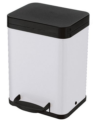 Hailo 2 x 11 Litre Trento Oko Recycling and Sorting Bin, White