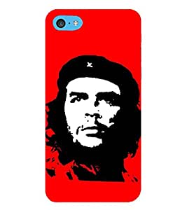 HiFi Designer Phone Back Case Cover Apple iPhone 6 Plus :: Apple iPhone 6+ ( Che Guevara Communist Logo Face )