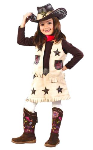 Cool Cowgirl Toddler Halloween Costume