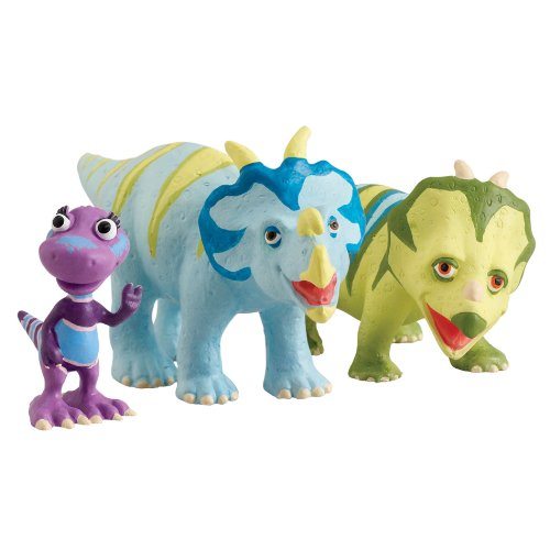 Learning Curve Dinosaur Train Collectible Dinosaur 3 Pack - My Friends Have Spikes: Mr. Einiosaurus, Ernie And Daphne