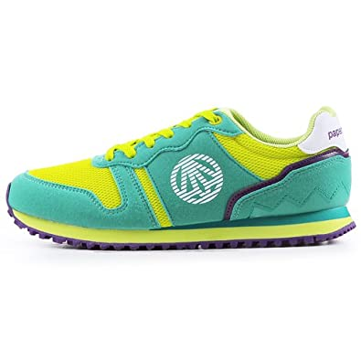 New Paperplanes Stylish Fashion Athletic Sports Running Womens Shoes Mint Green (5.5)