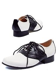 Ellie Shoes PL2201NW-L Ladies Saddle Shoe Adult LARGE
