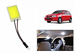 Speedwav Car Roof LED Light Square WHITE-Maruti Zen Old