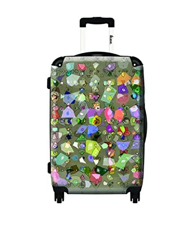 Ikase Candies From Strangers Rolling Luggage, Multi, 10X16X24
