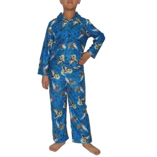 2 PCS SET: Boys Or Girls Disney Toy Story Fleece Sleepwear Pajama Top & Pants Set