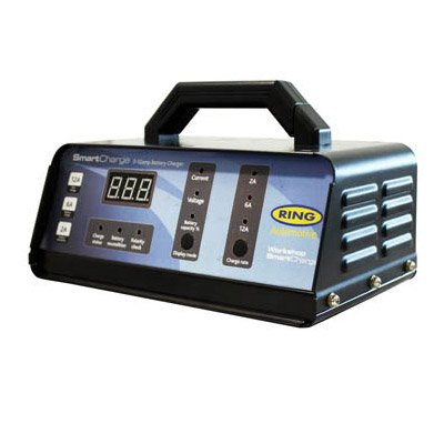 Ring Professional Heavy Duty Fully Automatic Garage Workshop Car Smart Battery Charger For Up To 5 Litre Engine