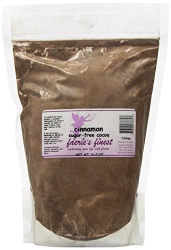 Faeries Finest Sugar-Free Cocoa, Cinnamon, 16 Ounce