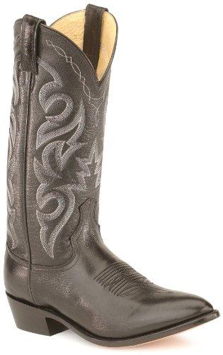 Dan Post Men's Smooth Leather Boot Black 10 D(M) US