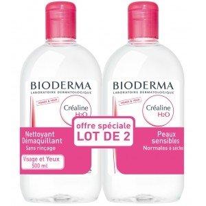 Créaline TS H2O 2 x 500ml Bioderma