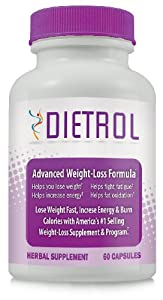 Dietrol - Acai Berry Weight Loss Supplement - Diet Pill To Burn Belly Fat With Green Tea - 3 Bottles from Pacific Naturals