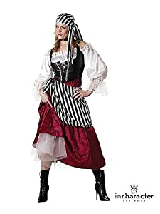 Women's Elite Pirate Wench Costume M