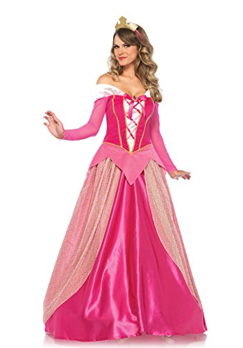 Halloween 2017 Disney Costumes Plus Size & Standard Women's Costume Characters - Women's Costume CharactersLeg Avenue Women's Princess Aurora Costume, Pink Dress