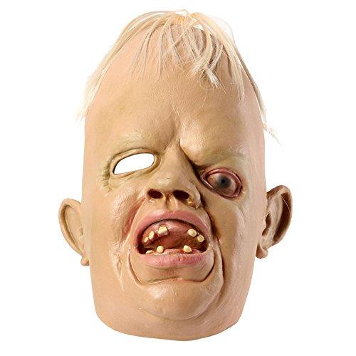 [Cyclopia Bucktooth Latex Mask Horrible Mask Halloween Supply] (Sloth From Goonies Halloween Costume)