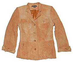 Credibility Women's Brown Blazer Jacket
