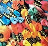 DMC 447 Skeins Cotton Cross Stitch Thread 8 meters each
