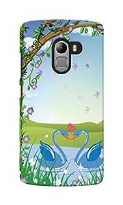 KnapCase Love Designer 3D Printed Case Cover For Lenovo A7010
