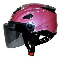 Aeroh Urban Half Face Helmet ( PINK)