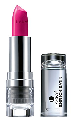Lakme Enrich Satins Lip Color, Shade P169, 4.3 g