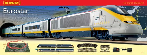Hornby  R1071 Eurostar 00 Gauge  Train Set