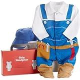Baby Aspen, Big Dreamzzz Baby Handyman 2-Piece Layette Set, 0-6 Months