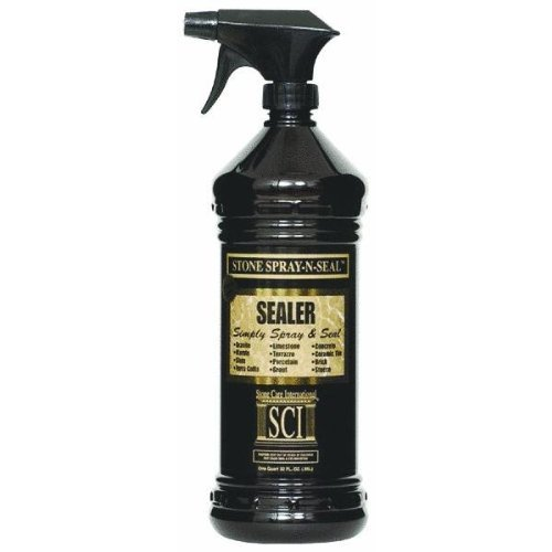 Stone Care International Stone Spray N Seal 32oz Home