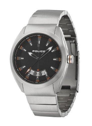 Police Solid Black Watch 12552JS/02M
