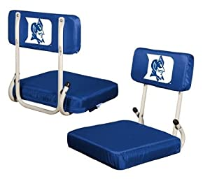 Duke Blue Devils Hard Back Stadium Seat by Logo Chair Co.