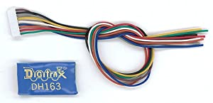 HO DCC Decoder, 6-Function 9-Pin 1.5A