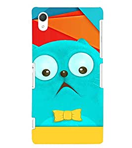 PRINTVISA Cartoon Cat Case Cover for Sony Xperia Z2