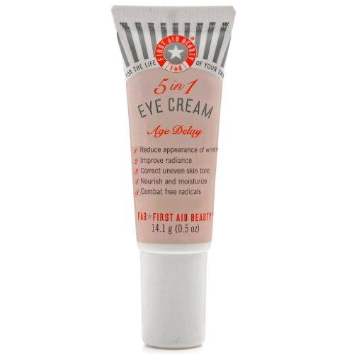 FAB First Aid Beauty Age Delay 5-in-1 Eye Cream - 14.1 g